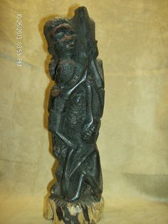 MAKONDE Ujamaa Tree Of Life Carving Tanzania Kenya African Art Collectibles
