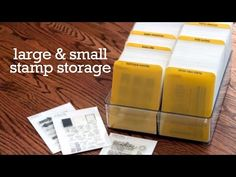 Video: Small & Large Clear Stamp Storage - Jennifer McGuire Ink