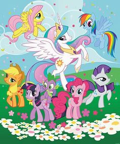 Buy Walltastic My Little Pony Wall Mural at Argos. Thousands of products for same day delivery or fast store collection. Little Pony Birthday Party, My Little Pony Party, Mlp My Little Pony, My Little Pony Friendship, My Little Pony Poster, My Little Pony Wallpaper, My Little Pony Twilight, My Little Pony Characters, Little Poni