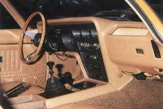 Opel GT dash