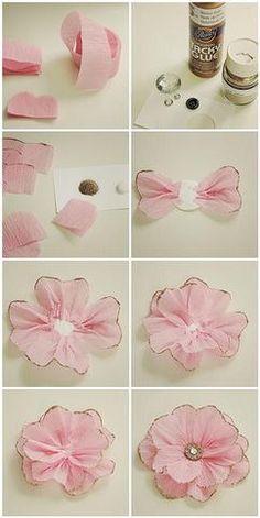 Mooie bloemen maken