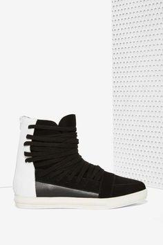 Jeffrey Campbell Enora Suede Sneaker