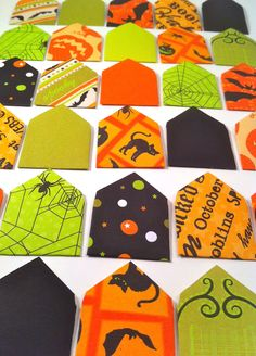 Let your kids send secret Halloween messages to friends with these!  Secret Mini Halloween Print Envelope Stationary by BrisCraftyShop, $3.00