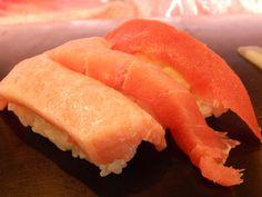 O-Toro Chu-Toro and Maguro. About $5. Sushi Zanmai Tokyo. #sushi #food #foodporn #japanese #Japan #dinner #sashimi #yummy #foodie #lunch #yum Sashimi, Nigiri Sushi, Food Porn, Tokyo, Sushi Food, Lunch, Japanese, Dinner