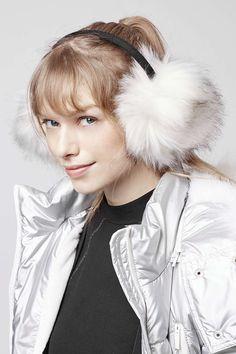 Photo 2 of SNO Faux Fur Earmuffs