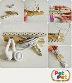 1000 images about organizadores diy on pinterest cable - Organizadores de ropa ...