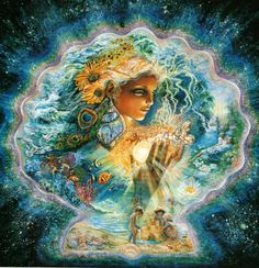 Creation of Summer by Josephine Wall.