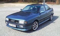1989 Audi 80 B3 Sport Edition Super Cars, Audi, Classic Cars, Trucks, Vehicles, Modern, Graphics, Sport, Deporte