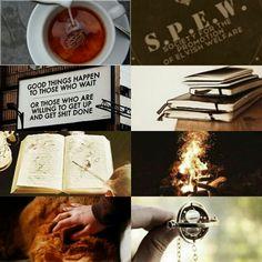 Hermione Granger aesthetic #HarryPotter