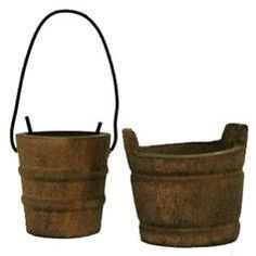 Get an actual bucket and put my list in it Water Bucket, Watering Cans, Milk Cans, Antique Boxes, Halloween Town, Barrels, Wabi Sabi, Distillery, Primitives