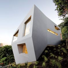 Hill House by Johnston Marklee, one of AD's 2012 Innovators.  http://www.architecturaldigest.com/architecture/innovators/2012
