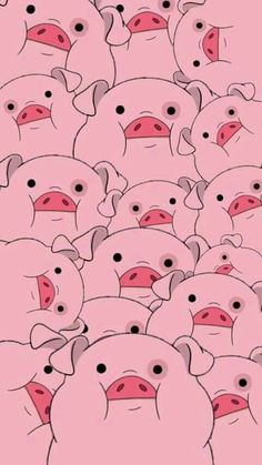 Waddles from Gravity Falls Pig Wallpaper, Disney Phone Wallpaper, Cartoon Wallpaper Iphone, Iphone Background Wallpaper, Tumblr Wallpaper, Cute Cartoon Wallpapers, Cellphone Wallpaper, Pretty Wallpapers, Aesthetic Iphone Wallpaper
