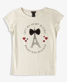 I'm pretty sure I need this....Forever 21 Girls | graphic tees and graphic t shirt | shop online | Forever 21 - 2050285412