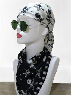 Bandana, Skull Printed Bandanas, Cotton Scarf Bandana, Foulard, Hair bandana, Bandana Face Mask, Headband, Skull painted bandana, Halloween