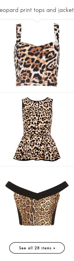 """leopard print tops and jackets"" by lulucosby ❤ liked on Polyvore featuring tops, crop tops, tanks, blusa, natural leopard print, animal print crop top, bralet crop top, strappy top, sweetheart neckline tops and bralette crop top"