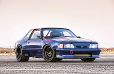 Creations n' Chrome owner Gary Watson wanted to build one of the fastest street-going Fox-bodies of all time. Check out Top Notch, a 1990 Ford Mustang. 2014 Ford Mustang, 1965 Mustang, Mustang Cars, Ford Svt, Vw Fox, Fox Body Mustang, Ford Lincoln Mercury, Classic Mustang, Best Muscle Cars