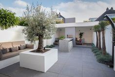 Dream Garden, Home And Garden, Backyard Garden Design, Green Grass, Go Outside, Garden Inspiration, Future House, New Homes, Exterior