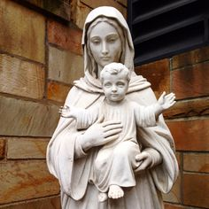 Blessed Mother at the Cleveland Cathedral
