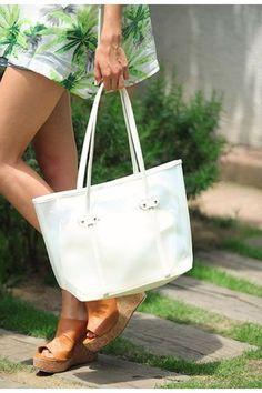 フィフス カラービニールトートバッグ / Colored Vinyl Tote Bag on ShopStyle