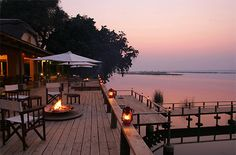 Royal Zambezi Lodge is a luxury safari lodge on the Zambezi River in Zambia. Winner of the World Luxury Boutique Hotel Award in 2011 and twice winners of the World Luxury Hotel Award, this is Zambian safari accommodation at its best, with an unforgettable Zambezi sunrise greeting you each morning and bush sounds lulling you to sleep at night.The lodge offers walking, driving and river safaris. Just 5minutes from the Lower Zambezi National Park.