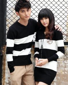 cb33ad504a TH000072 Korean style sweater couple clothes for women Matching Christmas  Outfits, Matching Couple Outfits,