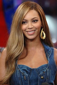 Gorgeous Sexy Beyonce Hairstyle Long Straight Remy Hair Light Auburn Lace Wig Human Hair about 22 Inches Side Part Hairstyles, Sleek Hairstyles, Wig Hairstyles, Straight Hairstyles, Natural Hairstyles, Hairstyle Ideas, Long Curls, Very Long Hair, Long Curly Hair