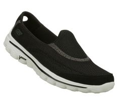 Skechers Go Walk 4 Walking Shoes for Women (Black & White