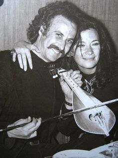 "Nikos Xilouris & Jenny Karezi - Ο Νίκος Ξυλούρης και η Τζένη Καρέζη την εποχή που παιζόταν ""Το Μεγάλο μας Τσίρκο"" (1973)"