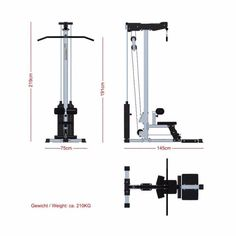 Lat Pulldown Machine, Homemade Gym Equipment, Mundo Fitness, Polaroid, Gym Machines, Garage Gym, Gym Design, Machine Design, At Home Gym