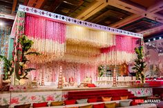 23 Super Easy DIY Ideas for an Amazing Bachelorette Party! is part of Wedding stage decorations Want to organise a bachelorette party on a budget It is possible!Everyone thinks you have to spend oo - Wedding Stage Decorations, Wedding Stage Backdrop, Desi Wedding Decor, Wedding Stage Design, Marriage Decoration, Wedding Entrance, Wedding Mandap, Backdrop Decorations, Wedding Ideas