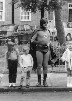 Road Safety With The Batman.