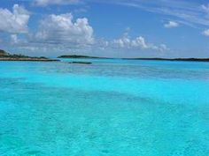 Exuma Islands.  I am dreaming off seeing this crystal clear beautiful water.