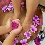 Bain de pieds relaxant aux H.E.