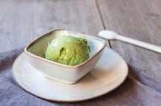 Matcha ijs, ook wel bekend als groene thee ijs