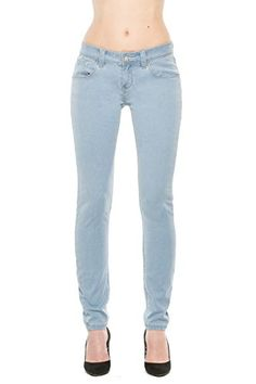 Rose Royce Women's Skinny Jeans (Ariana / Sky) (Knitted Fabric) - Size 27 (5/6) Rose Royce Clothing http://www.amazon.com/dp/B00N57CHD8/ref=cm_sw_r_pi_dp_Nnsqvb1RZWP63