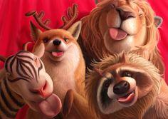 Digital Art & Illustration by Varya Kolesnikova Corel Painter, Character Creation, Character Development, Magical Creatures, Illustrators, Illustration Art, Animal Illustrations, Book Art, Graphic Art