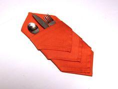 New Napkin-Folding Idea >> http://blog.diynetwork.com/maderemade/how-to/ellen-invents-a-new-napkin-folding-idea?soc=pinterest