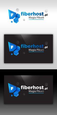 Fiber host logo - (hosting for minecraft)