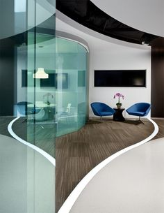 Glass walls and doors make everything better! #spaceswelove #WorkspaceVision