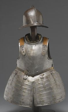 An English pikeman's armor  mid-17th century