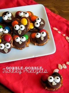 chocolate turkey pretzels                                                                                                                                                                                 More