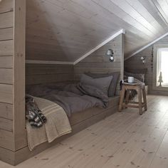 Image result for attic room bed