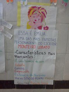 E.M. Professor Visitação: Visitando o Sítio do Picapau Amarelo... How To Plan, Kids, Book Week, Literatura, Writers, Transportation, Young Children, Boys, Children