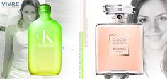 Pele oleosa, seca, ou normal... Qual é a sua?  Bem, isso pouco importa, pois a Vivreshop tem perfumes para todos os tipos de pele!    http://www.vivreshop.com.br