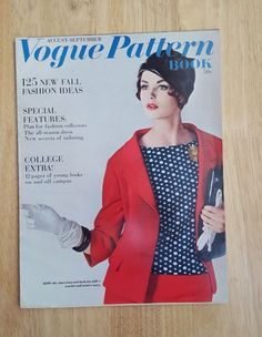 Vintage Vogue Pattern Book August - September 1961 in Books, Magazine Back Issues | eBay Dorothea McGowan