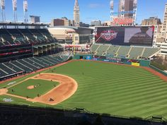 April 5, 2016 - Opening Day at Progressive Field, the home of the Cleveland Indians. Ok, so let's try this again..