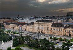 MQ Wien: Wolkiges Panorama © Ali Schafler Visit Austria, Museum, Let's Have Fun, Central Europe, Homeland, Vienna, North America, Ali, House Plans