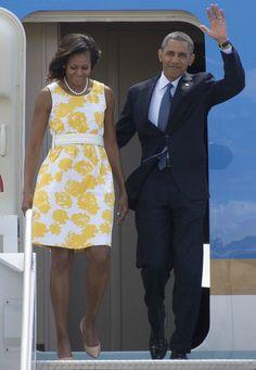Moda para mulheres com 50 anos ou mais - Michelle Obama