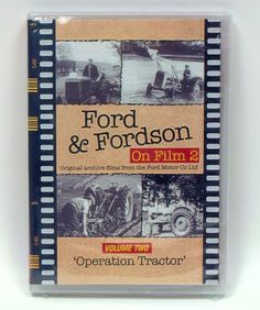 Ford & Fordson Archive #2 `Operation Tractor` DVD