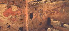 Sarteano tomba etrusca